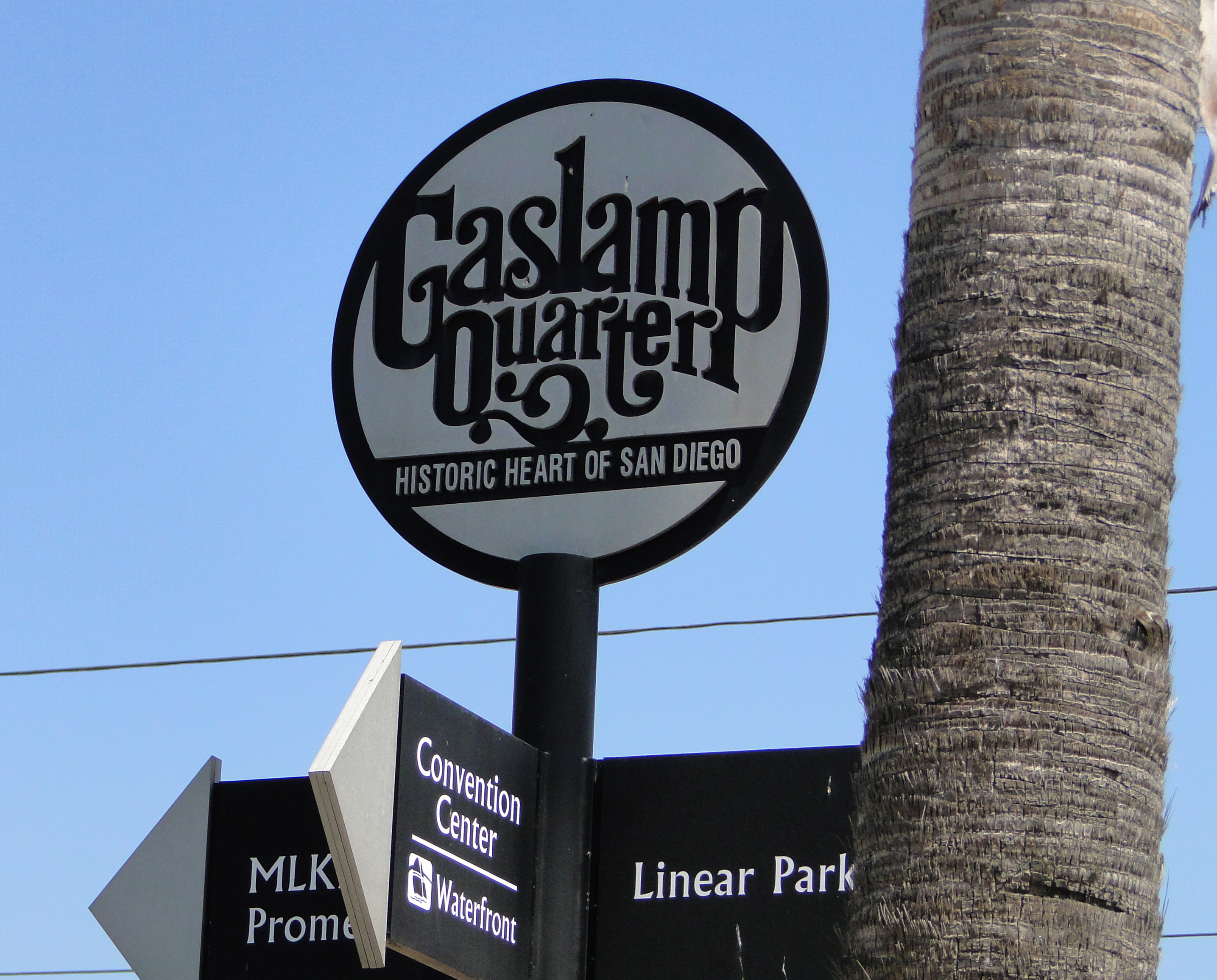 San Diego Gas Lamp Quarter